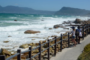 walk between Muizenberg and Kalk Bay