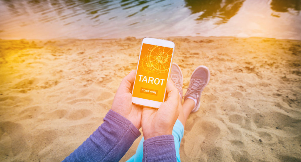 Tarot for travel Hedonist Hippy